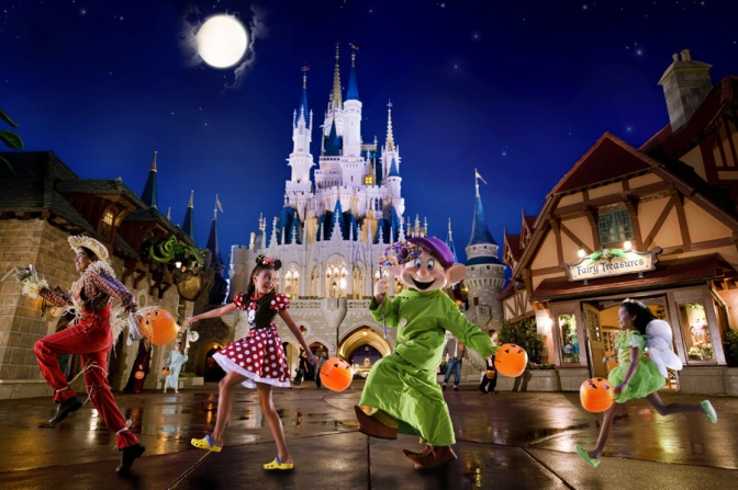 Já estão a venda os ingressos para as festas de Halloween e Natal do Magic Kingdom