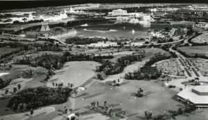 Model of Walt Disney World