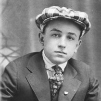 Walt Elias Disney Young