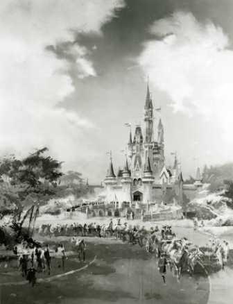 Concepção do Castelo da Cinderela
