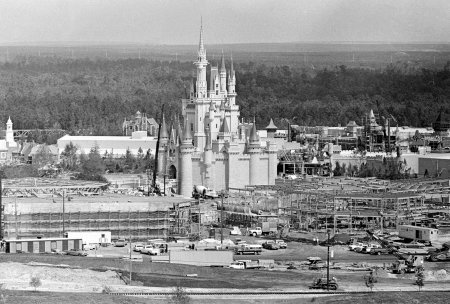 Construindo o Magic Kingdom