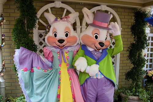 Meet Mr. and Mrs Easter Bunny
