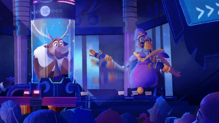 Sven's here too! (c) Walt Disney Imagineering