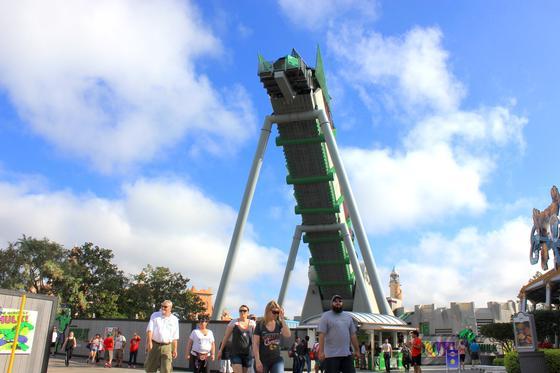 Incredible Hulk Coaster track2
