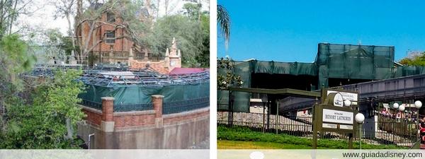 Construção Verde Disney World