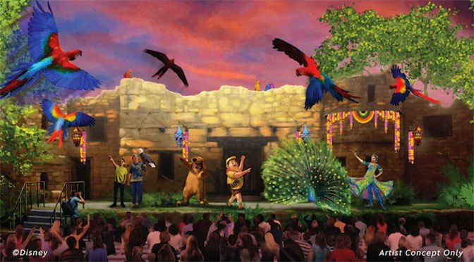 """UP! A Great Bird Adventure"" já tem data para inaugurar"