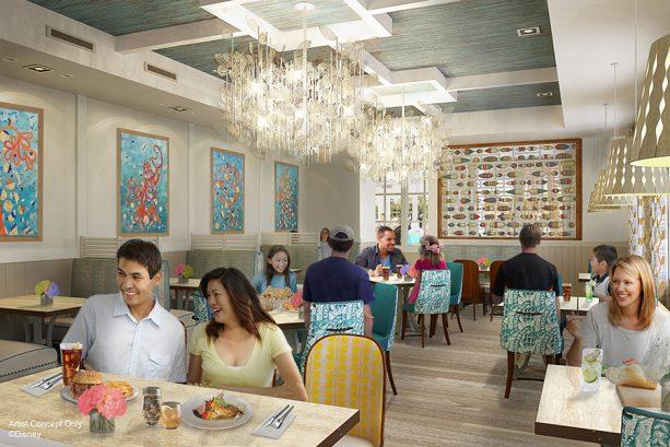 Detalhes dos 2 novos restaurantes no Disney's Caribbean Beach Resort