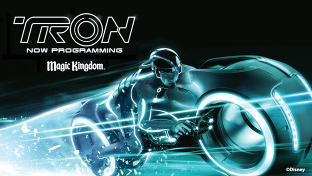 Update: Atração do TRON no Magic Kingdom