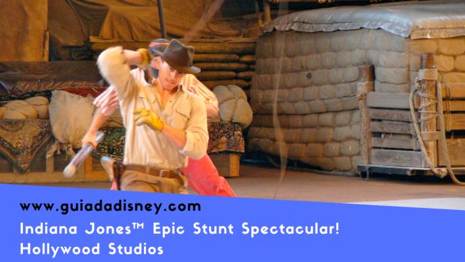 Vídeo – Cenas do show Indiana Jones™ Epic Stunt Spectacular