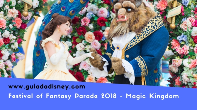 Vídeo – Disney Festival of Fantasy parade